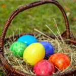 eggs in a basket - Easter Translations
